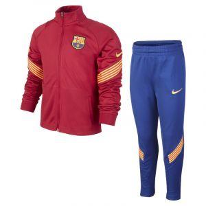 Nike Survêtement de football en maille FC Barcelona Strike pour Jeune enfant - Rouge - Taille L - Unisex