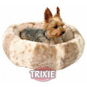 Trixie Lit en peluche Leika ø 50 cm beige/blanc