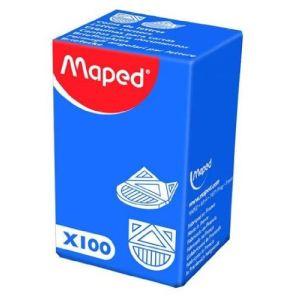 Maped 314201 - Boîte de 100 coins lettres métallisés en aluminium