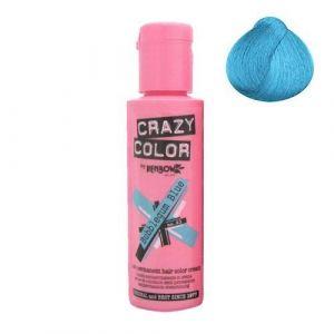 Crazy color Coloration cheveux semi-permanente, BUBBLEGUM BLUE, Bleu tendre