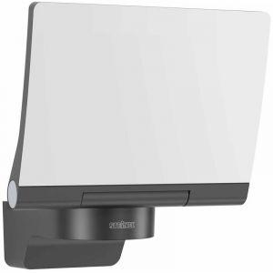 Steinel XLED Home 2 LED XL Noir %u2013 Grand Capteur de projecteur extérieur avec détecteur de mouvement 140 °, graphite, Integriert 20 wattsW