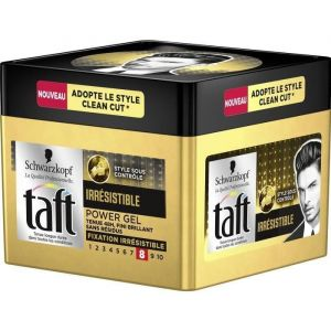 Schwarzkopf Taft Power Gel Irrésistible fixation 8