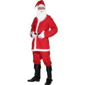 Déguisement Père Noël homme avec accessoires (taille M)