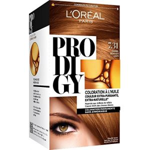 L'Oréal Prodigy Blondes 7,31 CAMEL - Blond Doré
