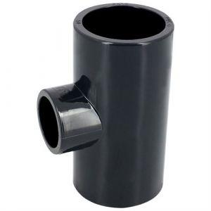 Centrocom Raccords Té 90° réduit PVC pression à coller FF Ø63-32