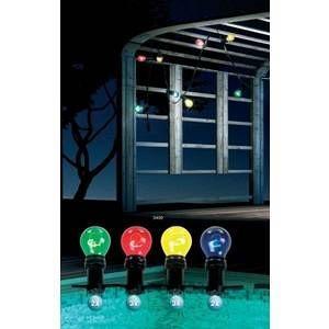 Globo Lighting Lampe d'extérieur Globo NIRVANA, 10 lumières Fun Extérieur NIRVANA