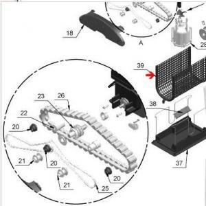Procopi 1017027 - Grille de protection Star Vac II, III