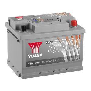 Yuasa YBX5075 Batterie de démarrage haute performance Argent