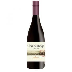 GRANITE RIDGE 2016 Pinotage Vin d'Afrique du Sud - Rouge - 75 cl - Vin d'Afrique du Sud Granite Ridge Pinotage 2016