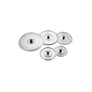 Rdvcuisine Couvercle en inox (26 à 30 cm)