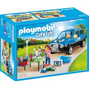 Playmobil 9278 - City life : Salon de toilettage mobile