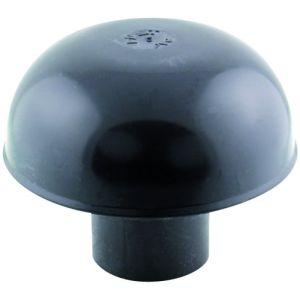 Interplast Chapeau de ventilation pvc ø 40 fem gris ardoise