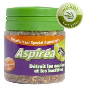 Aspirea Désodorisant spécial aspirateur - senteur au choix