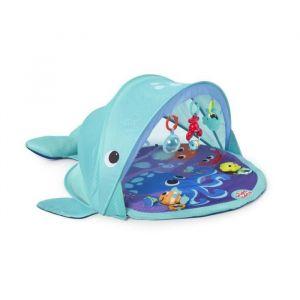Bright Starts Tapis d'Eveil Explore & Go Whale Protection UV