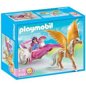 Playmobil 5143 - Carosse Avec Cheval Ailé