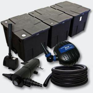 Kit:Filtration de B in 90000l 36W UV Stérilisateur Pompe Fontaine