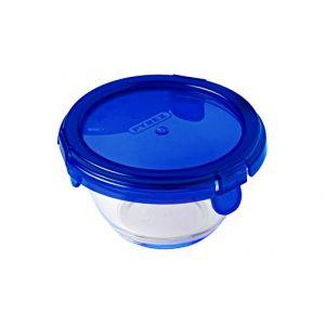 Pyrex COOK&GO - Boîte ronde en vere avec couvercle 11*6 cm