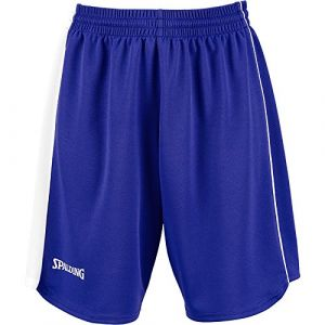 Spalding Spalding 4Herii Short Femme Royal/Blanc FR : XS (Taille Fabricant : XS)