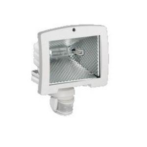 Hager Projecteur éco énergie 400W détect IR 140 blanc (52032)