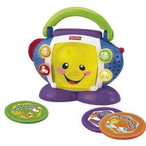 Fisher-Price Mon lecteur CD rires et éveil