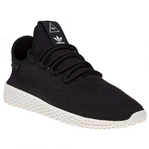 Adidas Pharrell Williams Tennis Hu Noire Et Blanche Baskets/Rétro-Running/Baskets Enfant