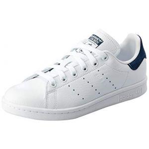 Adidas Stan Smith W, Chaussures de Fitness Femme, Blanc Ftwbla/Maruni 0, 36 EU