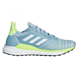 Adidas Chaussures de running Solar Glide Bleu / Jaune - Taille 41 Y 1/3