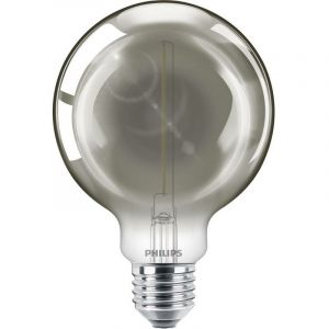 Philips Classic ampoule globe LED smoky E27 G93 2W