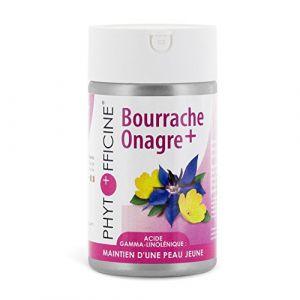 Phytofficine Onagre Bourrache+ d'origine marine - 60 Comprimés