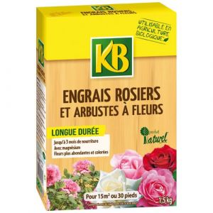KB Engrais biologique rosiers 1.5 Kg