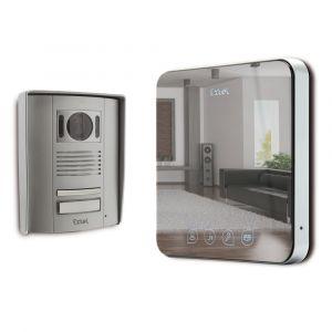 Extel Quattro 2 - Visiophone couleur 2 fils écran 18 cm