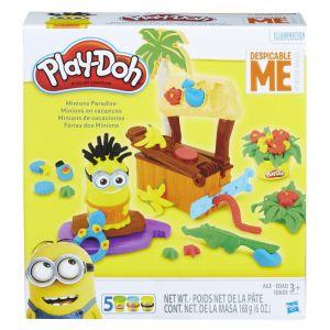 Hasbro Play-Doh - Minions en vacances