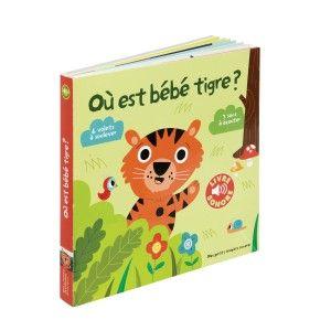 Editions Gallimard Où est bébé tigre ?