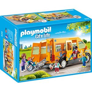 Playmobil 9419 - City life : Bus scolaire