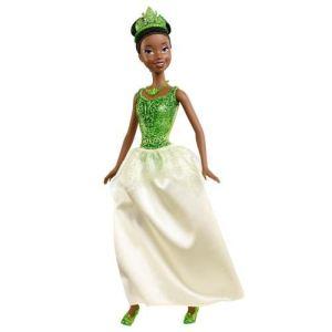 Mattel Disney Princesse paillettes : Tiana (X9339)