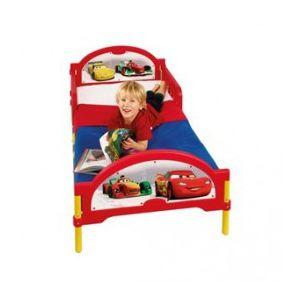 Worlds Apart Lit pour enfant en métal et plastique Disney Cars (70 x 140 cm)