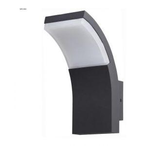 Lo Design Applique exterieur led -lux Dakotta Gris anthracite fonte d'aluminium Lo00011978