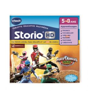 Vtech Jeu tablette Storio : Power Rangers