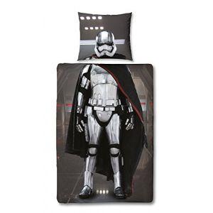 Sahinler Parure de lit Star Wars effet trompe l'oeil (140 x 200 cm)