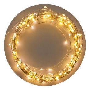 XmasKING Guirlande LED d'intérieur noël - Blanc froid - 12 m
