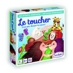 Sentosphère Jeu sensoriel Le toucher
