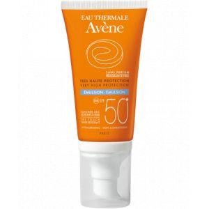 Avène Emulsion très haute protection Spf 50+ sans parfum