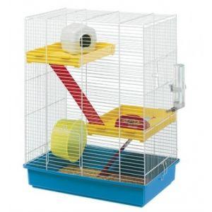 Ferplast Tris - Cage hamster à étages