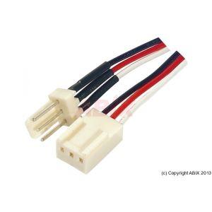 Dexlan 146871 - Rallonge alimentation DIP3 m/f 45 cm