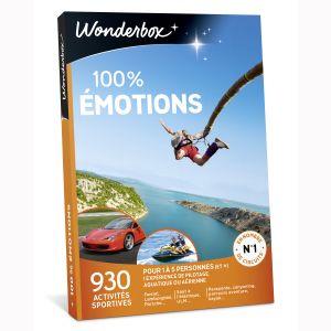 100% émotions - Coffret cadeau 930 activités sportives