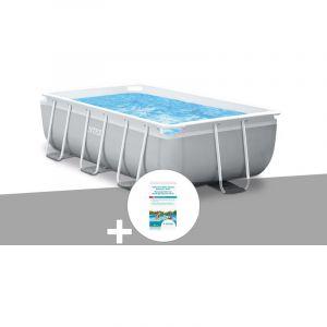 Intex Kit piscine tubulaire Prism Frame rectangulaire 3,00 x 1,75 x 0,80 m + Kit de traitement au chlore