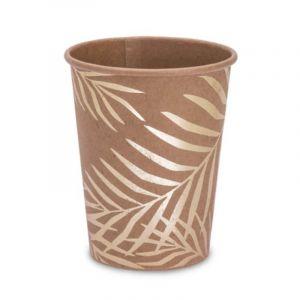 Gobelets en carton Tropi Chic palmier (8 pièces) Arty Fêtes Factory