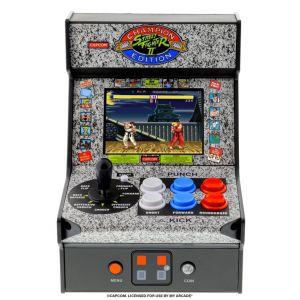 My arcade Mini console de jeu Street Fighter II Noir