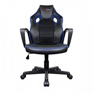 Tacens Chaise de jeu MGC0BBL Métal PVC Noir Bleu