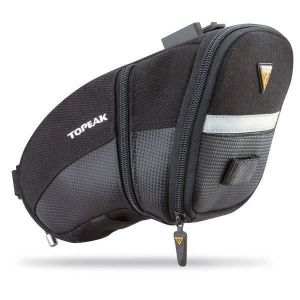 Topeak Aero Wedge Pack Quickclick Sac de Selle Mixte Adulte, Noir, Taille L